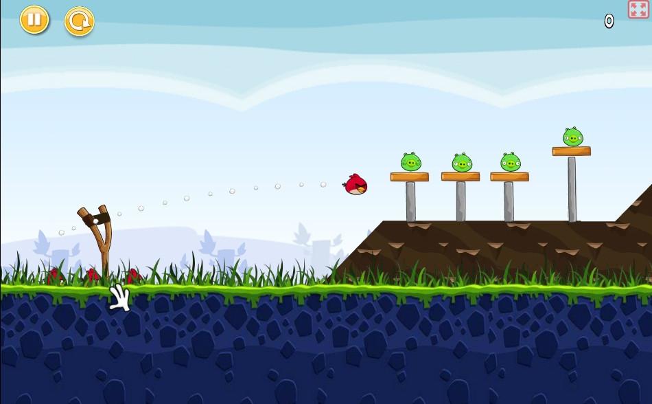Juega a Angry Birds Online y Gratis