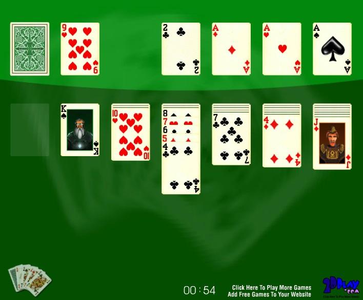 juegos de casino solitario clasico