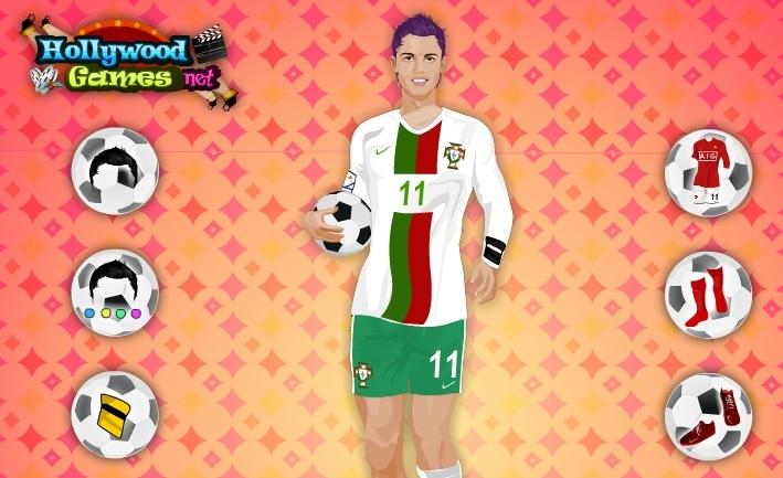 juega a vestir a cristiano ronaldo online y gratis