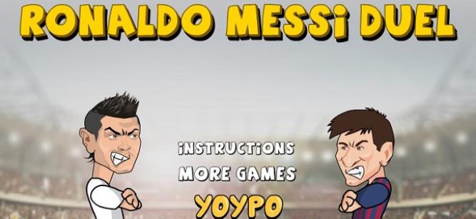 Cristiano y Messi se enfrentan en un duelo de balonazos