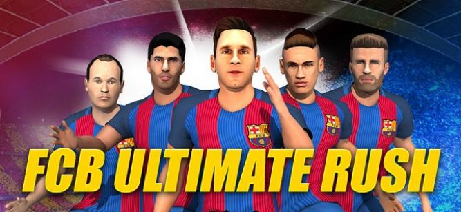 Diviértete con los jugadores del Barcelona en este endless runner