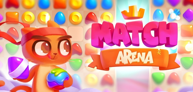 Combate online en apasionantes batallas de caramelos con este Match 3 multijugador