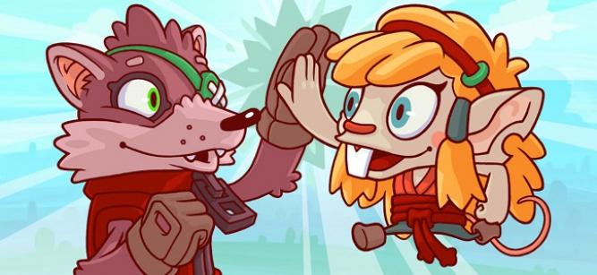Max y Mink es un juego colaborativo que requiere de mucha destreza