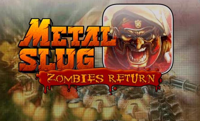 Los zombis asaltan el clásico Metal Slug