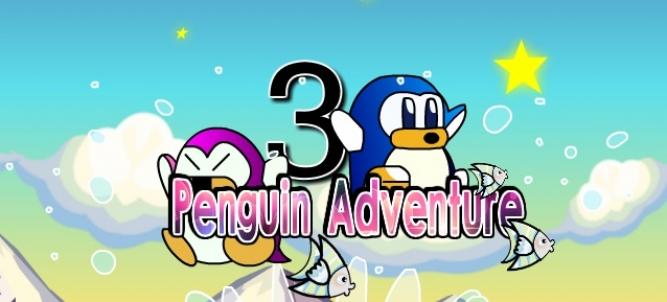 Participa en un juego de plataformas con simpáticos pingüinos
