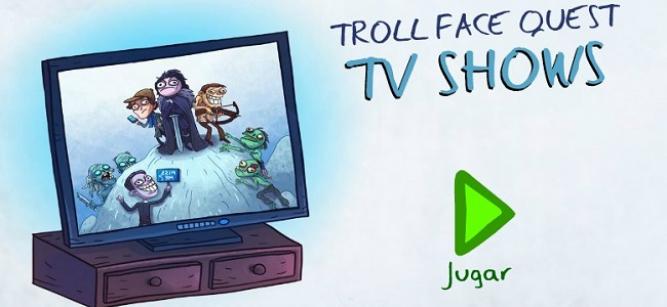 Gasta bromas pesadas a personajes televisivos en este juego Troll FACE
