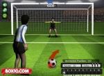 Elige la zona de contacto con el balón para golpearlo en una dirección u otra