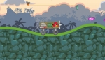 Conduce tu kart en busca de caramelos en Angry Birds Crazy Racing