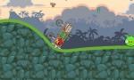 Procura no volcar en Angry Birds Crazy Racing o tendrás que comenzar de nuevo