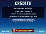 Como puedes leer en los créditos, el juego viene acompañado de la música de Jingle Bells