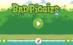 Pulsa Start para empezar a jugar a Bad Piggies
