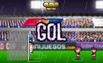 El objetivo de este juego de fútbol es marcar goles y ganar el partido en Barcelona vs Real Madrid