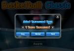 Selecciona la dificultad y el número de equipos del torneo en Basketball Classic