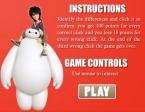 Lee con atención las instrucciones antes de comenzar a jugar a Big Hero 6