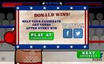 Gana cada combate para aumentar tu nivel de popularidad entre los votantes