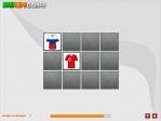 Descubre las cartas ocultas e intenta memorizar la ubicación de las camisetas de cada equipo