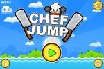 Chef Jump es un juego casual protagonizado por un cocinero y montones de cuchillos