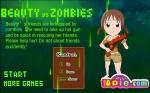 Prepárate para empezar a matar zombis en Chicas guapas contra zombis