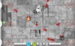 Esquiva los disparos de la nave principal y recoge vida en Commando Arena