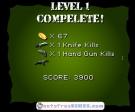 Completa cada nivel para poder seguir avanzando en Commando Drop