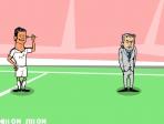 Tírale dardos a Mourinho para alegrar el día a CR7
