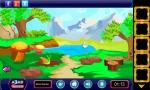Explora el bosque en busca de objetos y pistas para resolver los puzles