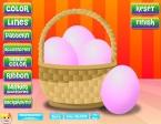 Elige el color de base con el que quieres pintar tus huevos de Pascua