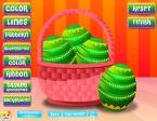 Cambia la cesta en la que guardarás tus huevos de Pascua