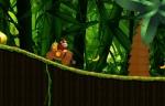 Intenta recoger todos los plátanos en tu camino en 'Donkey Kong Country'