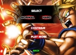 Escoge el nivel de dificultad para jugar a Dragon Ball Fighting