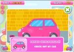 Pinta el coche de rosa mientras haces una práctica en Driving Lesson Slacking