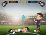 Tumba al jugador rival con un pelotazo en la cara