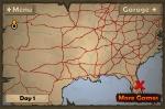 Deberás recorrer el mapa de una punta a la otra de EE.UU.