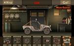 Acude al garaje para mejorar tu vehículo y prepararlo para matar zombis
