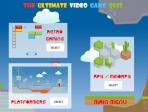 Escoge una de las tres categorías disponibles: juegos retro, de rol o de plataformas