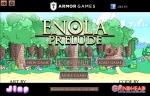 Configura la calidad de imagen y el sonido y pulsa 'New Game' para empezar Enola: Prelude