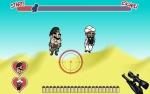 Dispara a Osama y Saddam para evitar que lleguen a su objetivo en Escaper Caper