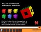 Además deberás completar el cubo para poder volver a abrir el portal