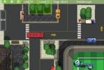 Sigue las flechas amarillas sobre el suelo para encontrar la plaza de parking de tu autobús