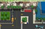 Procura cuadrar el vehículo para que quede entre los límites de la plaza