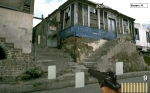 En Ruins el entrenamiento con objetivos móviles nos lleva a las ruinas de una ciudad en Fire@Will