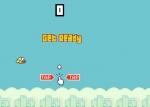 No dejes de hacer click sobre la pantalla para mantener el pájaro en el aire en Flappy Bird 2 Online