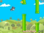 Como en Flappy Bird, deberás intentar esquivar todas las tuberías verdes