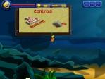 Explora las profundidades marinas usando las teclas WASD y dispara con el ratón