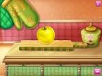 Coge la tabla de cortar si necesitas trocear algún alimento en Frozen: Anna en la cocina