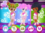 Ayuda a Gamellina y a sus amigas a escoger la mejor ropa para el concurso de moda