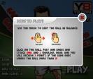 Mueve al jugador galés a izquierda y derecha y haz click para mantener el balón en el aire