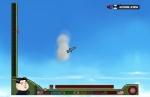 Una vez en el aire, dirige el cohete lo más lejos que puedas en Gran líder, Kim Jong-Un