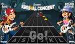 Aporrea las teclas para ganar en Guitar Hero