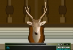 Siniestras piezas de caza presiden este salón encantado